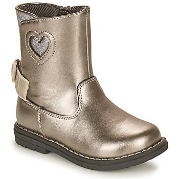 Chaussures Fille Bottes ville Chicco CALLINA Argenté