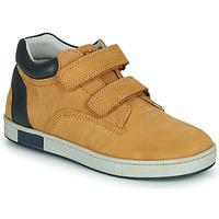Chaussures Garçon Baskets montantes Chicco CODY Marron / Marine