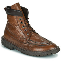 Chaussures Homme Boots Moma COMBAT Marron
