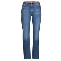 Vêtements Femme Jeans droit Tommy Hilfiger NEW CLASSIC STRAIGHT HW A LEA Bleu Medium