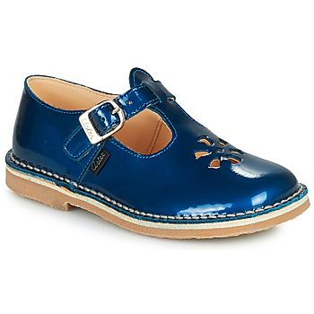 Chaussures Fille Sandales et Nu-pieds Aster DINGO Bleu vernis