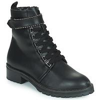 Chaussures Femme Boots The Divine Factory LH2247B Noir