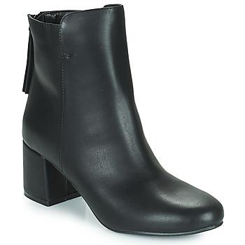 Chaussures Femme Bottines The Divine Factory LH2268 Noir