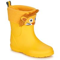 Chaussures Enfant Bottes de pluie Isotoner 99314 Jaune