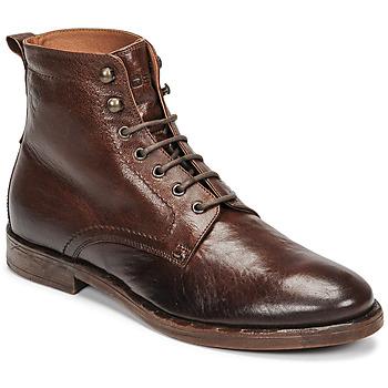 Chaussures Homme Boots Kost MILITANT 67 Cognac
