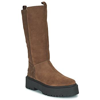 Chaussures Femme Bottes ville Musse & Cloud BARBIS Marron