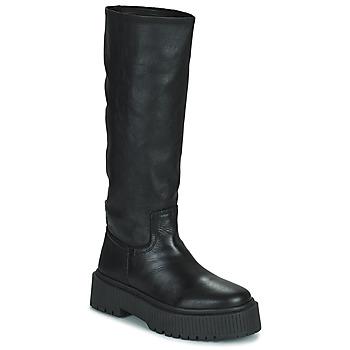Chaussures Femme Bottes ville Musse & Cloud BRULI Noir