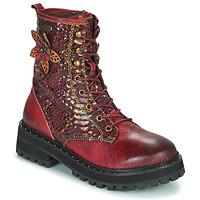 Chaussures Femme Boots Laura Vita IACNISO Bordeaux / Violet