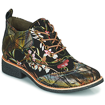 Chaussures Femme Boots Laura Vita COCRALIEO Noir / Vert / Rose