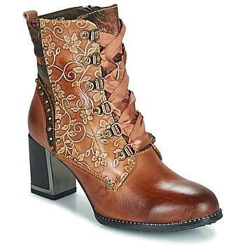 Chaussures Femme Bottines Laura Vita KACIO Marron