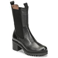 Chaussures Femme Bottines Wonders H-3930 Noir
