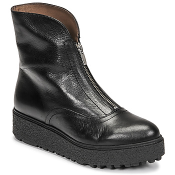 Chaussures Femme Boots Wonders A-9520 Noir