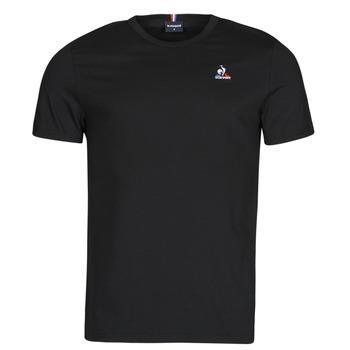 Vêtements Homme T-shirts manches courtes Le Coq Sportif ESS TEE SS N 3 M Noir