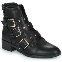 Chaussures Femme Boots Only BRIGHT 15 PU BIKER BOOT Noir