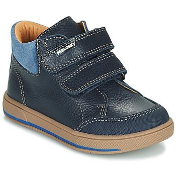 Chaussures Garçon Boots Pablosky 503723 Bleu