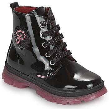 Chaussures Fille Boots Pablosky 404019 Noir
