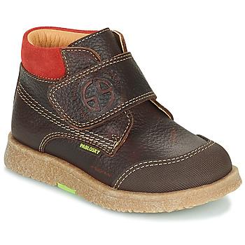 Chaussures Garçon Boots Pablosky 502593 Marron