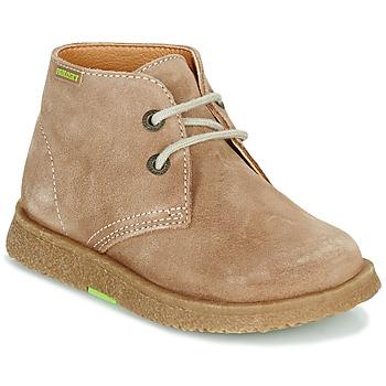 Chaussures Garçon Boots Pablosky 502148 Camel