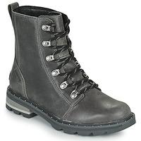 Chaussures Femme Boots Sorel LENNOX LACE Gris
