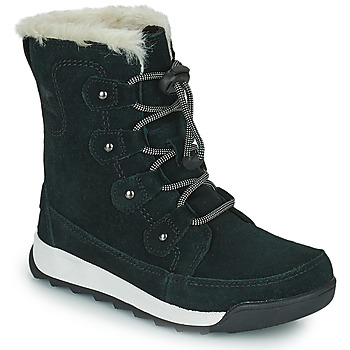 Chaussures Fille Boots Sorel YOUTH WHITNEY II JOAN LACE Noir
