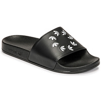 Chaussures Claquettes adidas Originals ADILETTE Noir
