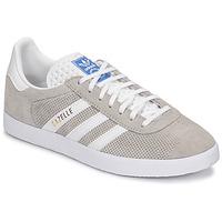 Chaussures Baskets basses adidas Originals GAZELLE Gris / Creme