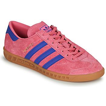 Chaussures Baskets basses adidas Originals HAMBURG Rose / Bleu