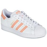 Chaussures Femme Baskets basses adidas Originals SUPERSTAR Blanc / Rose