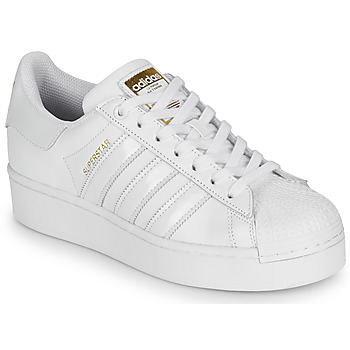 Chaussures Femme Baskets basses adidas Originals SUPERSTAR BOLD W Blanc