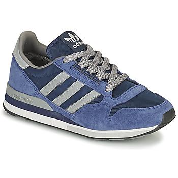 Chaussures Baskets basses adidas Originals ZX 500 Bleu / Gris
