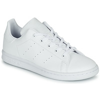 Chaussures Enfant Baskets basses adidas Originals STAN SMITH C Blanc