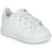 Chaussures Enfant Baskets basses adidas Originals STAN SMITH EL I Blanc
