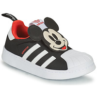 Chaussures Garçon Baskets basses adidas Originals SUPERSTAR 360 C Noir / Mickey