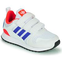 Chaussures Enfant Baskets basses adidas Originals ZX 700 HD CF C Bleu / Blanc / Rouge