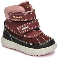Chaussures Fille Bottes de neige Primigi BARTH 19 GTX Bordeaux