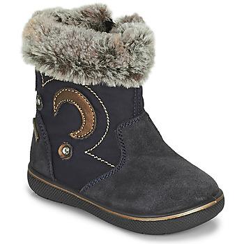 Chaussures Fille Bottes de neige Primigi SNORKY GTX Marine / Marron