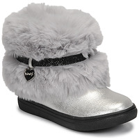 Chaussures Fille Boots Primigi BABY LUX Argenté