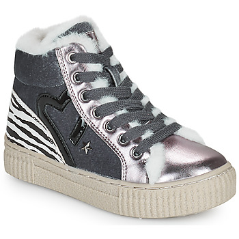 Chaussures Fille Baskets montantes Primigi GIRL ALPHA Argenté