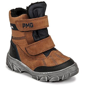 Chaussures Garçon Bottes de neige Primigi HIKER GTX Marron