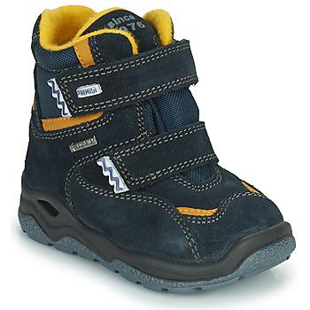 Chaussures Garçon Bottes de neige Primigi GARY GTX Marine / Jaune