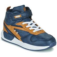 Chaussures Garçon Baskets montantes Primigi B&G MEGA Bleu / Marron