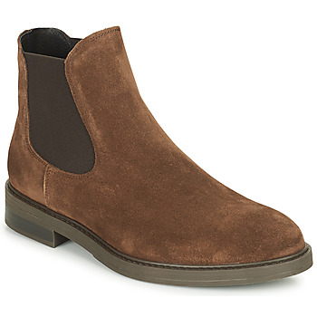 Chaussures Homme Boots Selected CHELSEA Marron