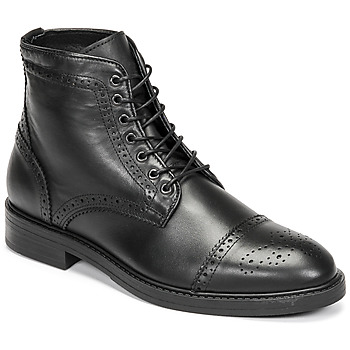 Chaussures Homme Boots Selected BROGUE Noir