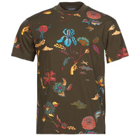 Vêtements Homme T-shirts manches courtes Scotch & Soda PRINTED RELAXED FIT Marron