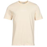 Vêtements Homme T-shirts manches courtes Scotch & Soda GRAPHIC LOGO Beige