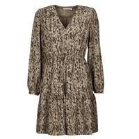 Vêtements Femme Robes courtes See U Soon 21221194 Khaki