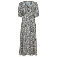 Vêtements Femme Robes longues See U Soon 21221123 Marine / Blanc