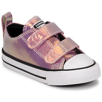Chaussures Fille Baskets basses Converse CHUCK TAYLOR ALL STAR 2V IRIDESCENT GLITTER OX Rose