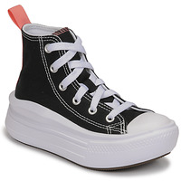 Chaussures Fille Baskets montantes Converse CHUCK TAYLOR ALL STAR MOVE CANVAS HI Noir / Rose