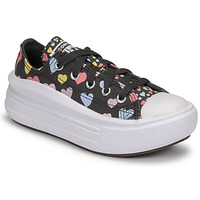 Chaussures Fille Baskets basses Converse CHUCK TAYLOR ALL STAR MOVE ALWAYS ON HEARTS OX Noir / Multicolore